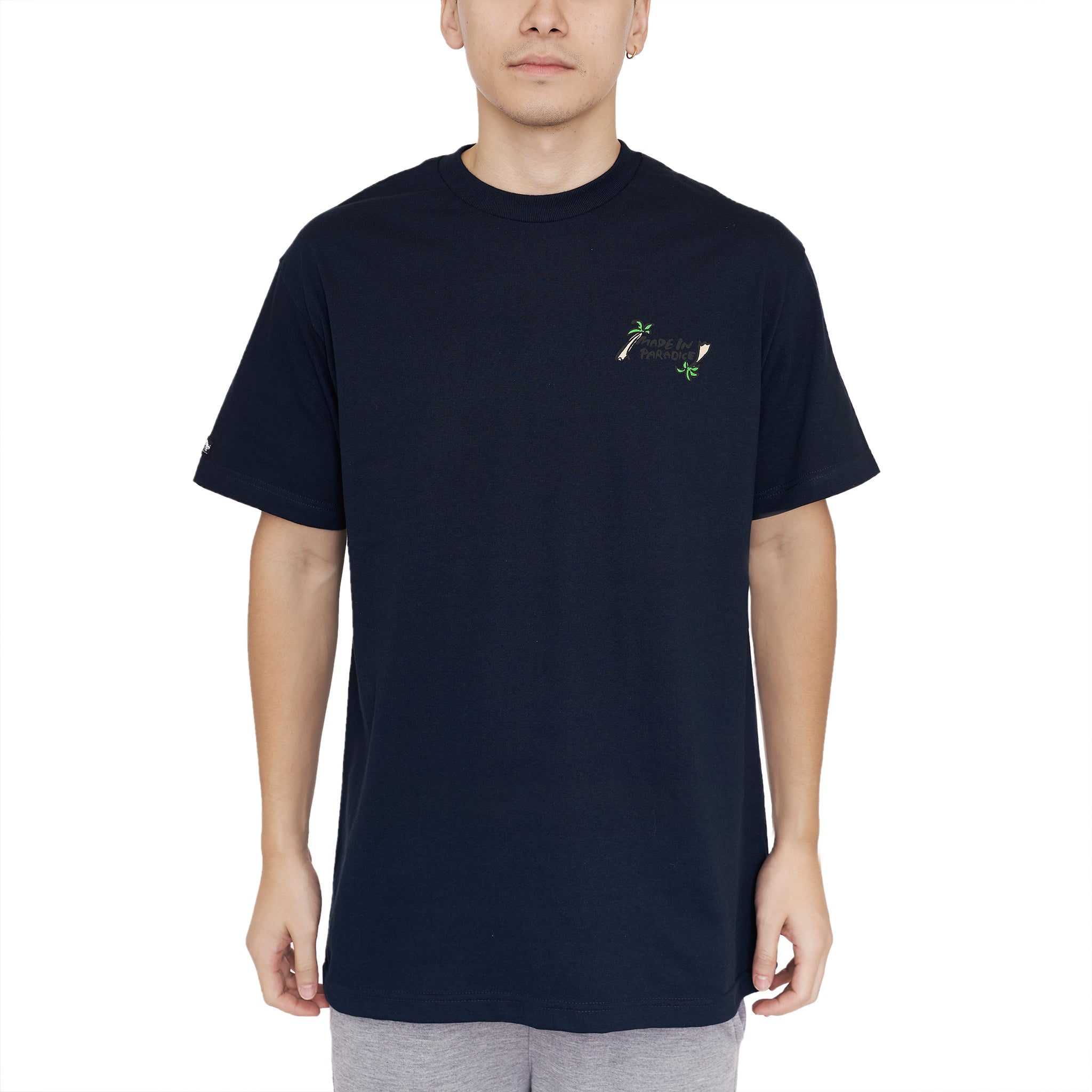 THE STROLL TEE - DARK NAVY