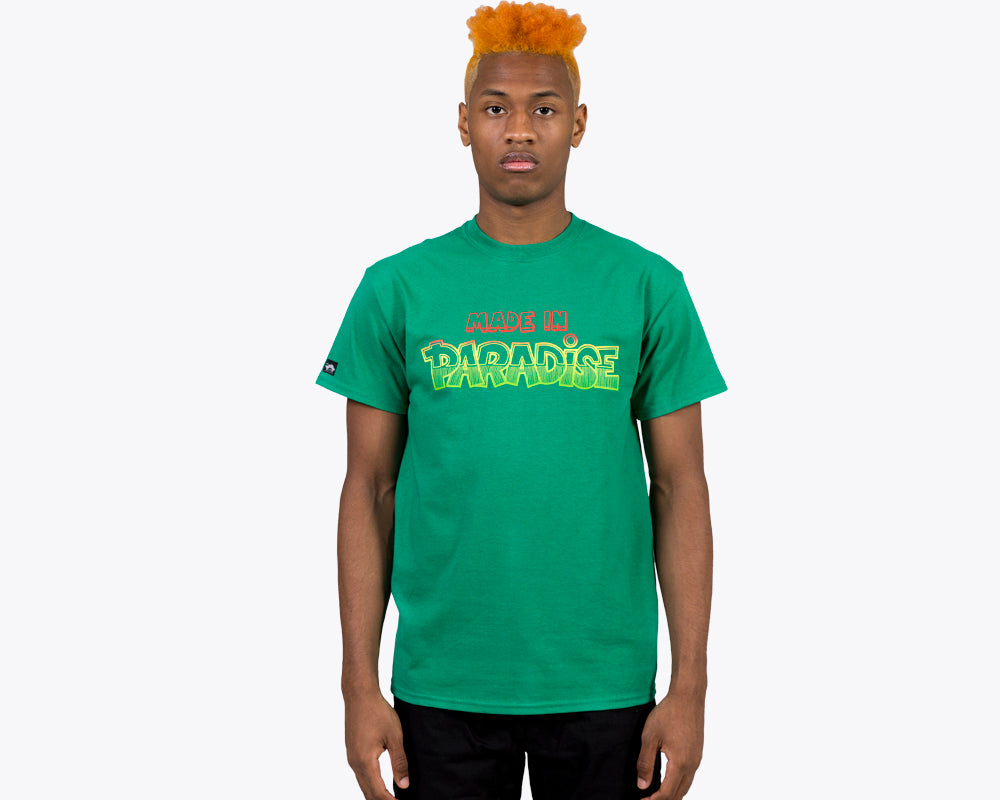 DANCEHALL LOGO T-SHIRT – KELLY GREEN