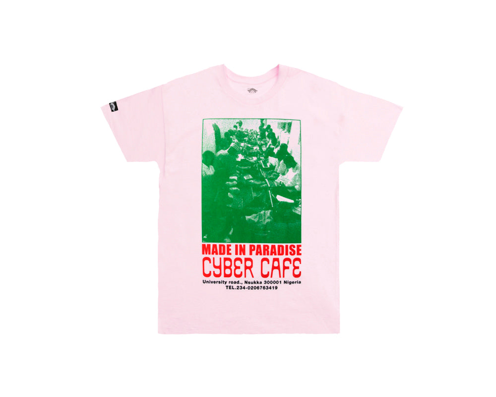CYBER TEE - PINK