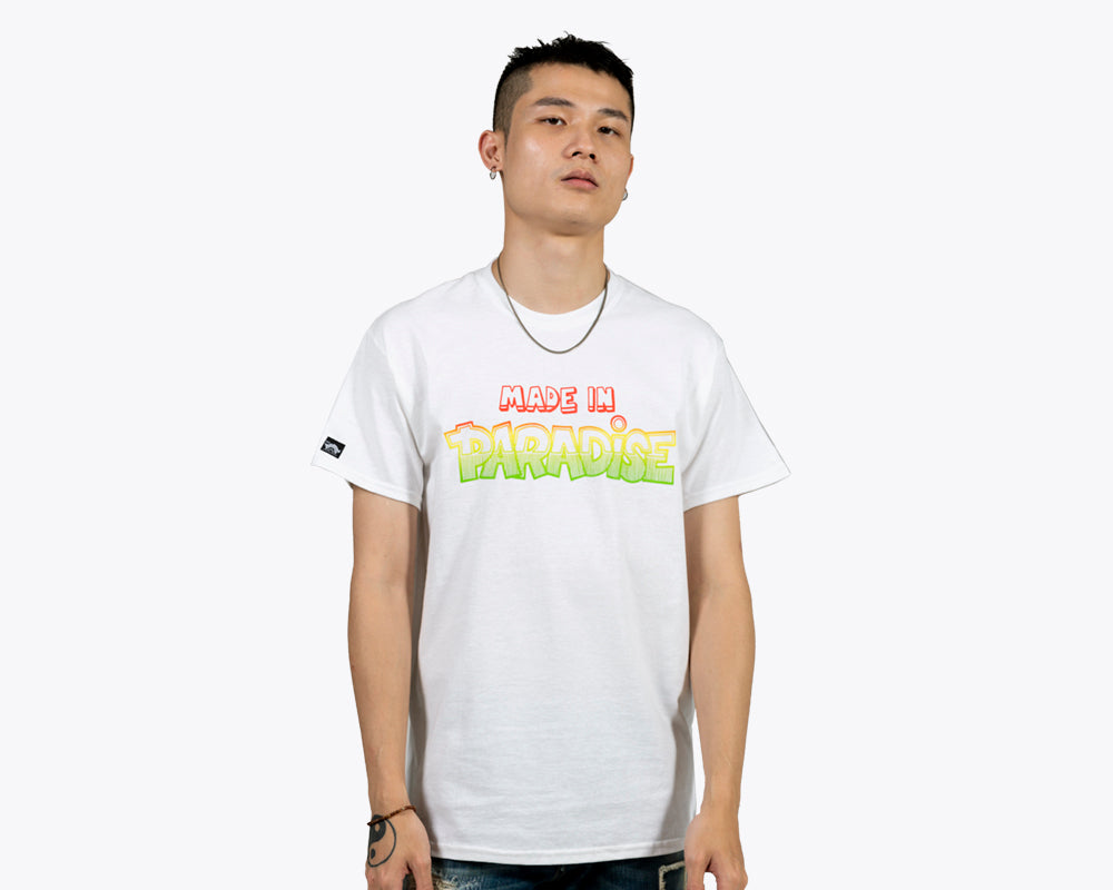 DANCEHALL LOGO T-SHIRT – White