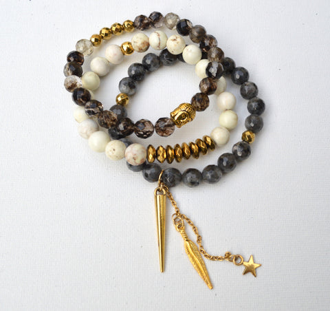 Good Vibes Bracelet Set