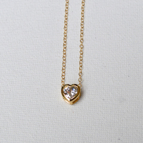 Kelley Collection // Heart Pendant Necklace