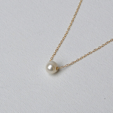 Kelley Collection // Pearl Pendant Necklace