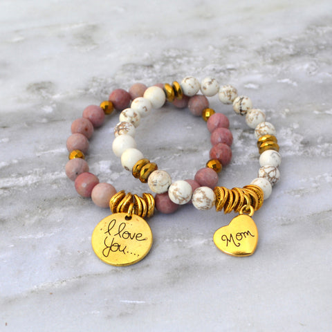 Mother's Love Bracelet Stack