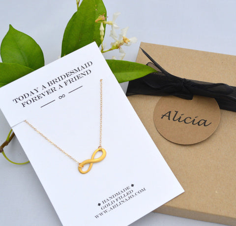 Kelley Collection // Infinity Necklace