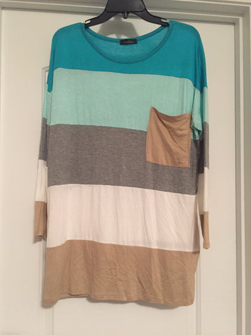 Striped top (large)