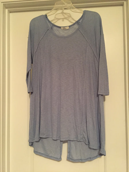 Periwinkle blouse (large)