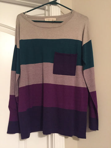 Moonlit striped sweatshirt (medium)