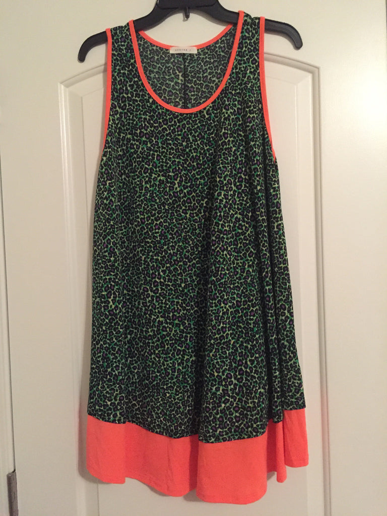 Leopard print dress (1XL)