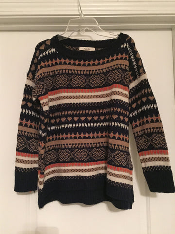 Patterned sweater (one size)