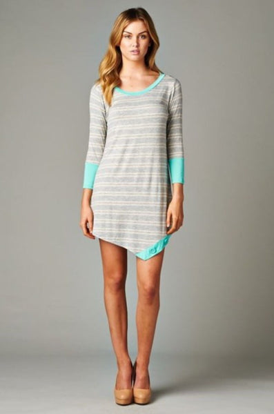Double stripe dress (medium)