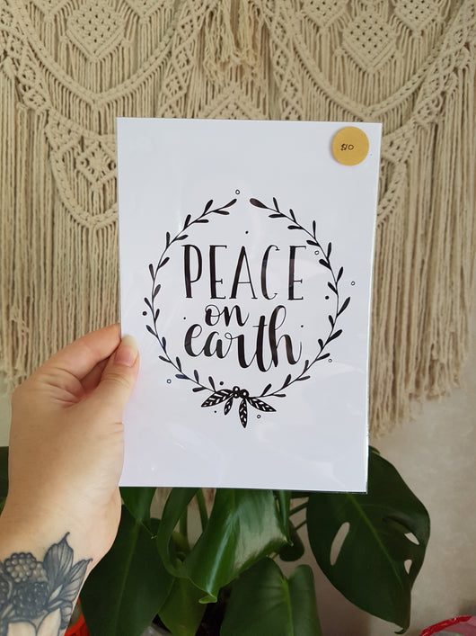 Peace on Earth - A4
