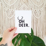 Oh Deer - Gift Card