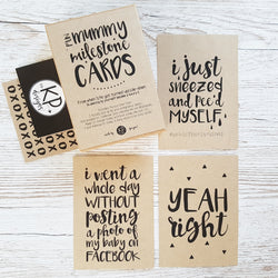 Fun Mummy Milestone Cards