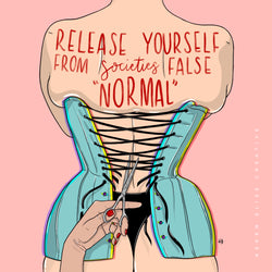 Release yourself from societies FALSE normal