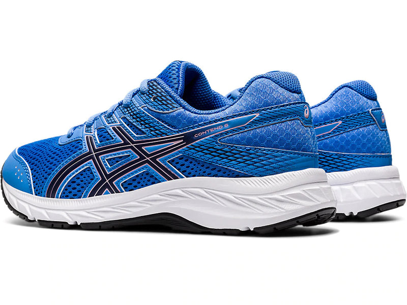 CONTEND 6 GS BLUE COAST/PEACOAT from Asics - Ten Feet Tall Shoes