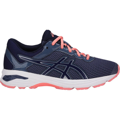 GT-1000 6 GS SMOKE BLUE (GIRLS) from Asics - Ten Feet Tall Shoes