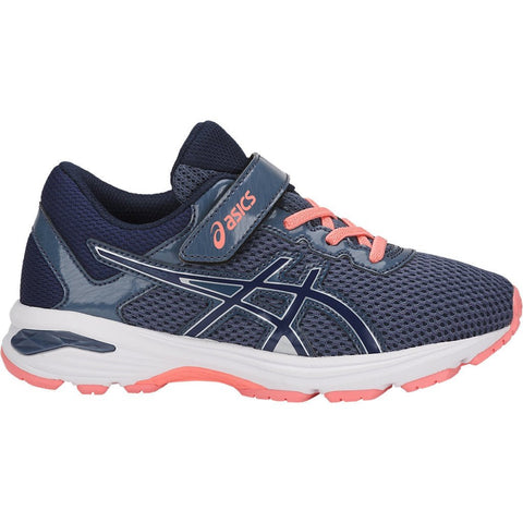 GT-1000 6 PS SMOKE BLUE (GIRLS) from Asics - Ten Feet Tall Shoes
