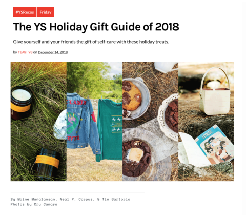 Young Star // The YS Holiday Gift Guide of 2018