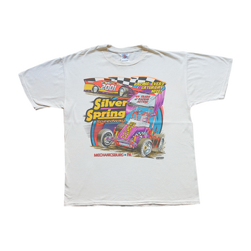 2001 Silver Spring Speedway Racing Tee - XL