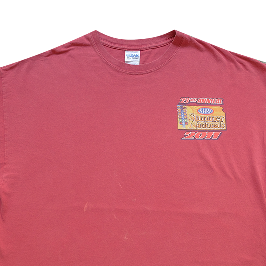 2011 23rd Annual NHRA Summer Nationals Racing Tee - 2XL