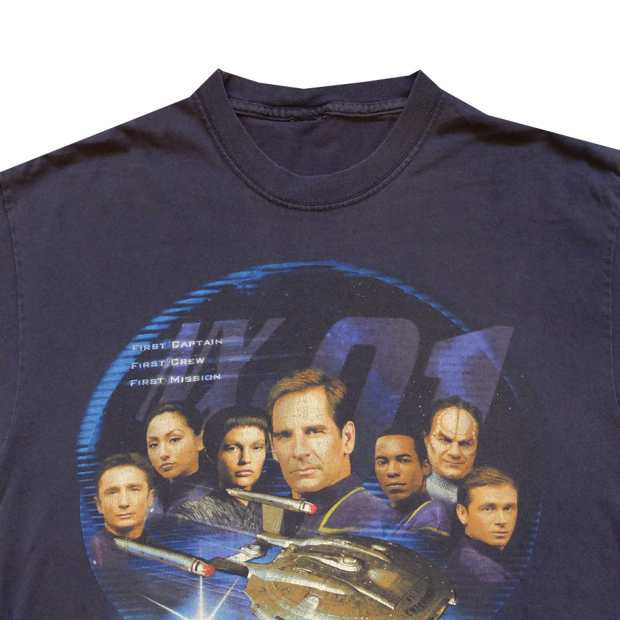 2001 Star Trek Enterprise Tee - M