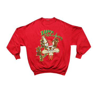 1994 Looney Tunes Zappy Holidays Crewneck - L