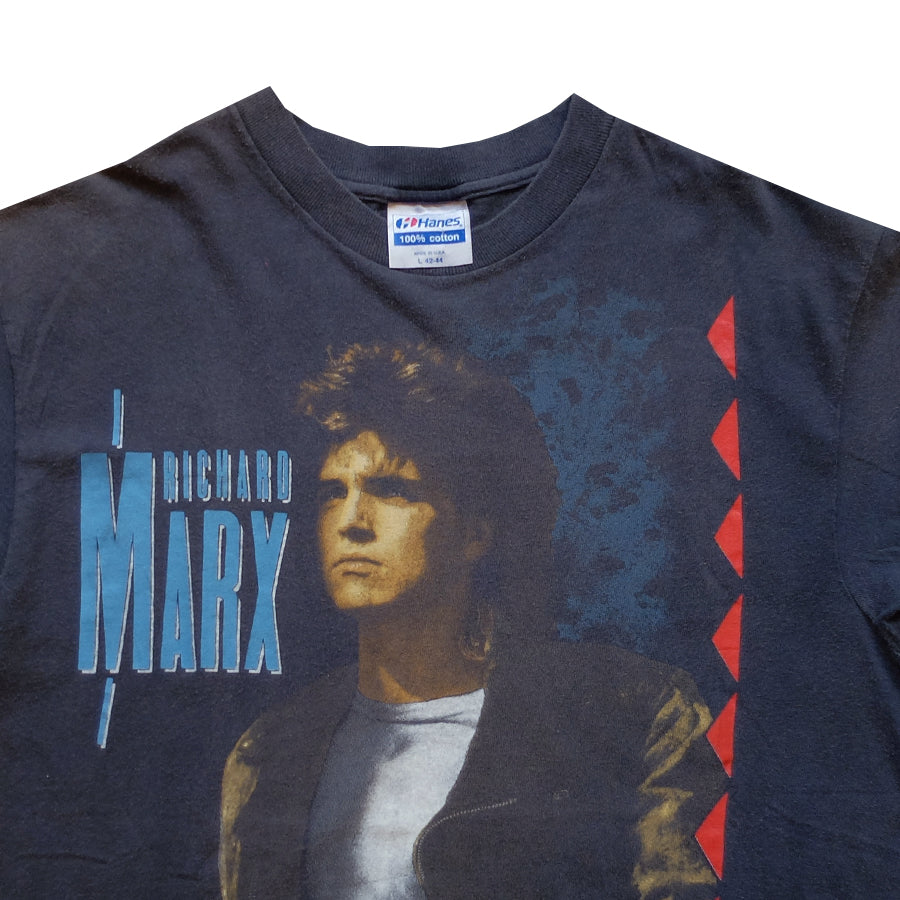 1990 Richard Marx Repeat Offender Tour Tee - L