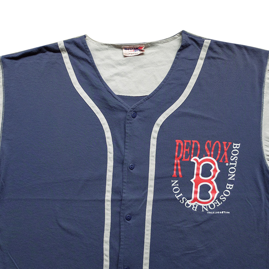 1996 MLB Boston Red Sox Button Tee - 2XL
