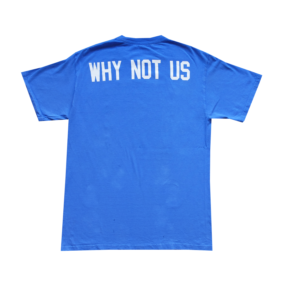 NHL New York Rangers Why Not Us Tee - M