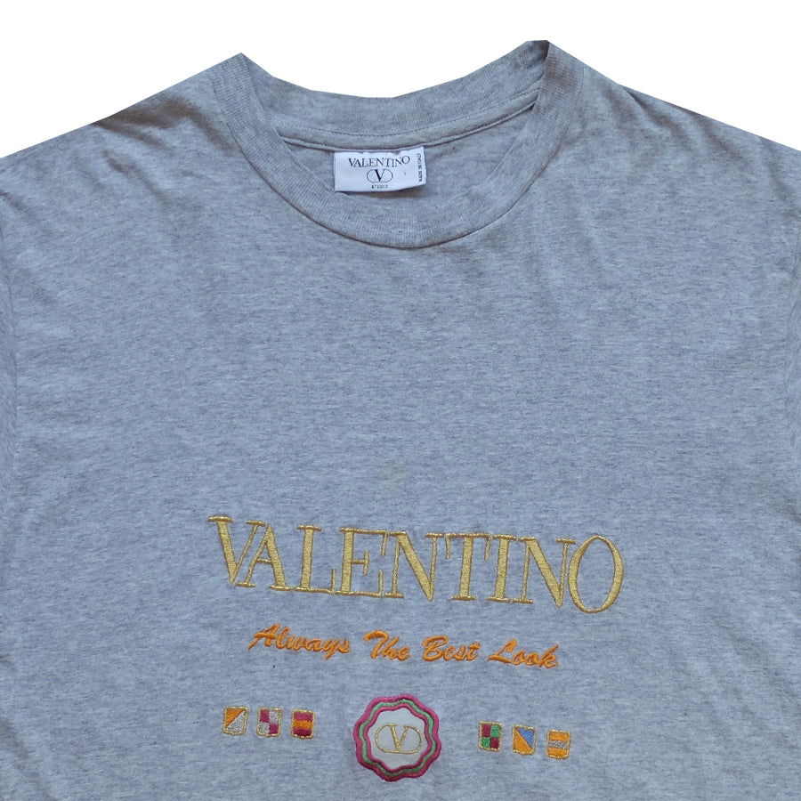 Valentino Embroidered Tee - S
