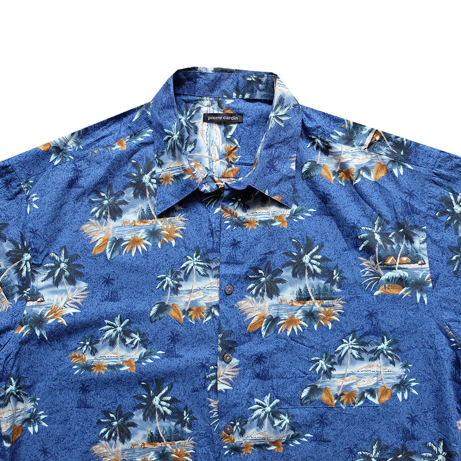 Pierre Cardin Hawaiian Shirt - XL
