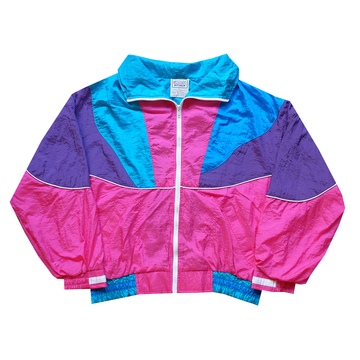 Westside Connection Colorblock Windbreaker - L