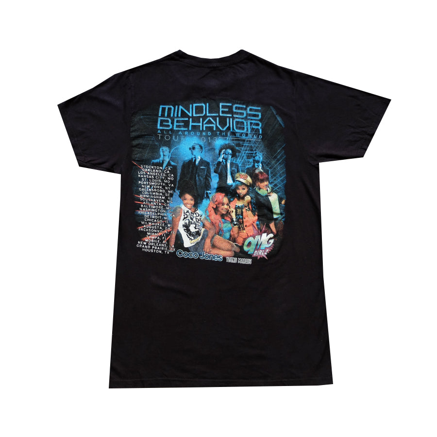 2013 Mindless Behavior World Tour Tee - M