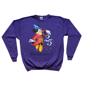 25th Anniversary Walt Disney World Crewneck - M
