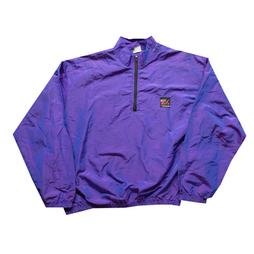 Surf Style Purple Interplanetary Windbreaker - Fits M-2XL