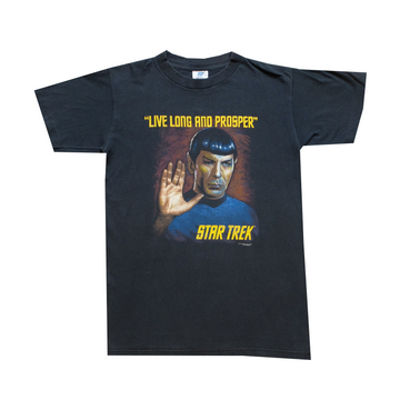 1993 Star Trek Spock Live Long And Prosper Tee - Youth XL