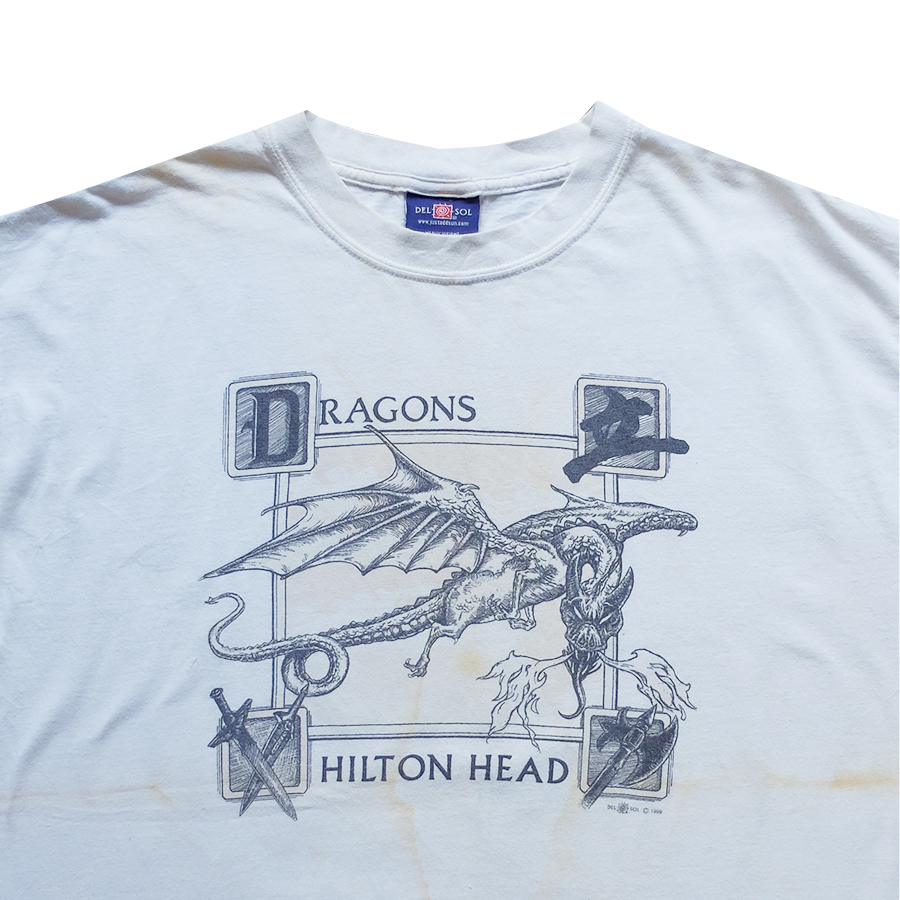 1999 Dragons Hilton Head Tee - XL
