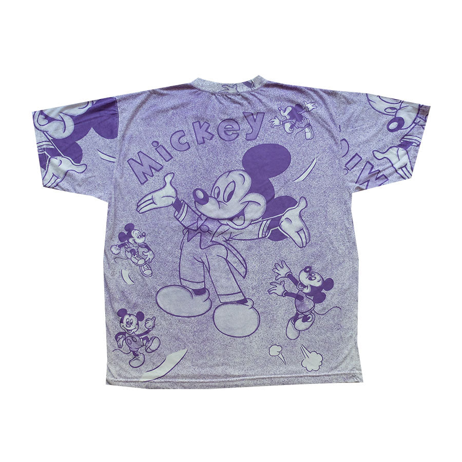 90s Disney Mickey All Over Tee - XL