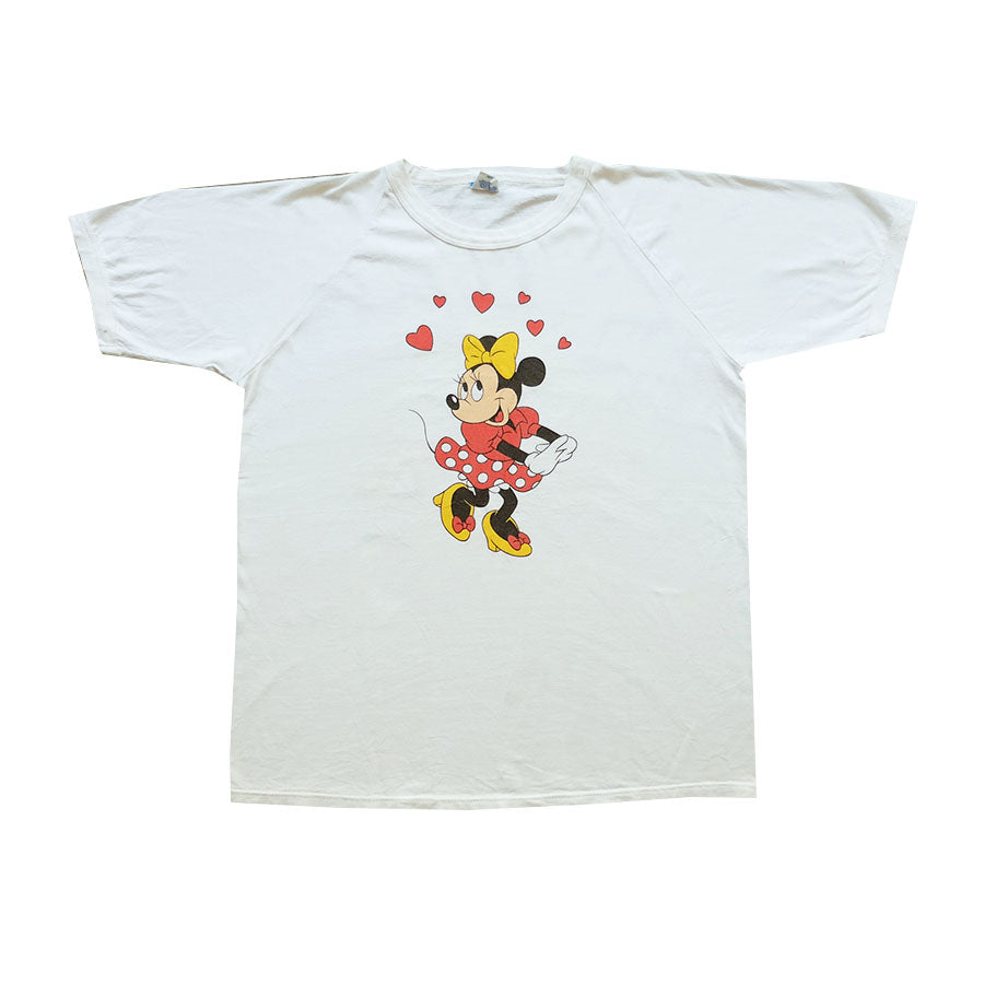 80s Disney Minnie Mouse Tee - L