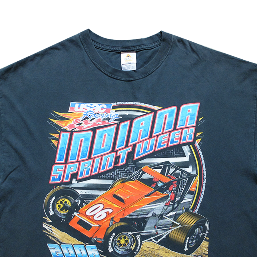 2006 Indiana Sprint Week USAC Racing Tee - 2XL