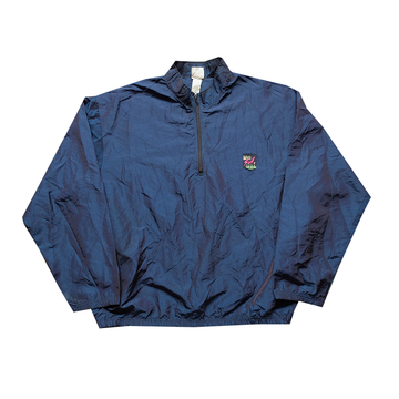 Surf Style Dark Blue Interplanetary Windbreaker - Fits M-2XL