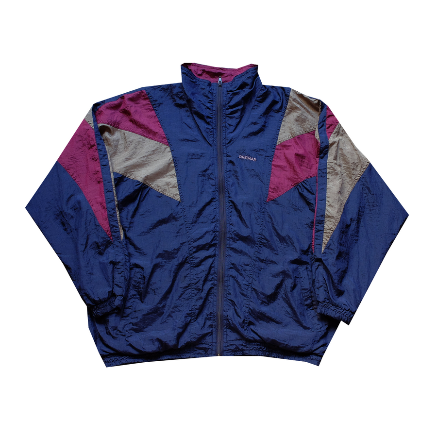 Dreimar Embroidered Windbreaker - XL