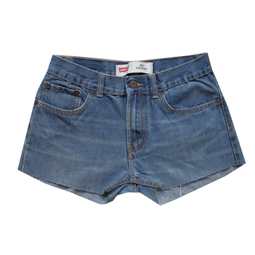 Levi's 505 Denim Cutoff Shorts - 28