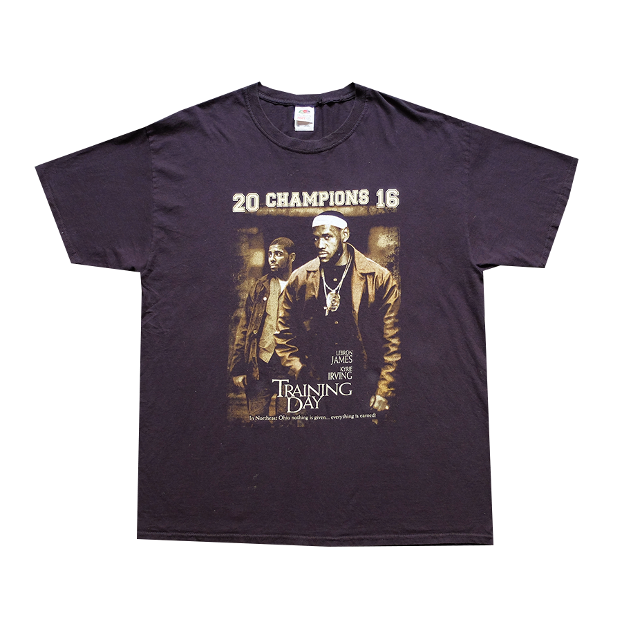 2016 Champions Training Day Lebron James and Kyrie Irving Tee - XL