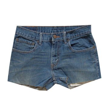 Levi's 511 Denim Cutoff Shorts - 28
