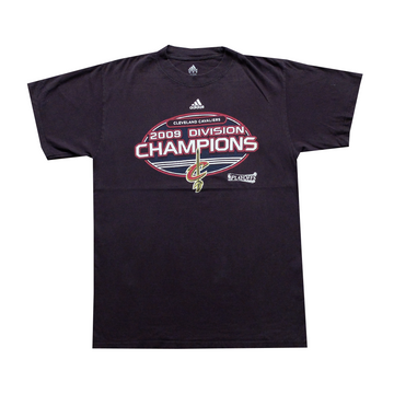 2009 NBA Cleveland Cavaliers Division Champions Tee - M