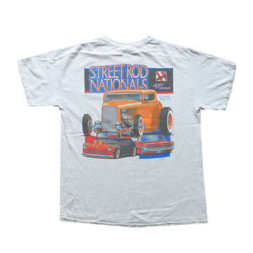 43rd Annual Street Rod Nationals Pocket Racing Tee - L