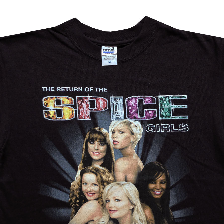 2007 Return of the Spice Girls World Tour Tee - M