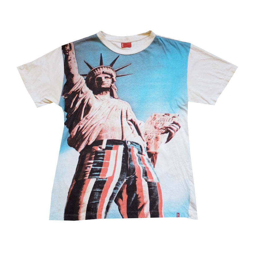Levi's Statue of Liberty Tee - L